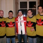 Kris Draper with the Falcons in Canada House