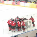 Canada vs. Sweden women's gold medal game